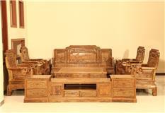 非洲檀香 国色天香沙发 (123)6件套   10件套