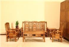 非洲檀香 明式沙发6件套