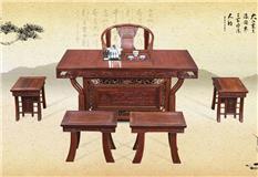 黑酸枝/非洲红酸枝  将军茶台6件套