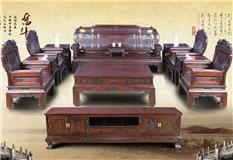 黑酸枝 五福沙发11件套